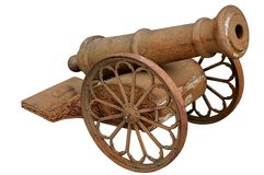 Small Cannon. Stock Images