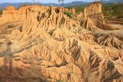 Small canyon land Royalty Free Stock Photos