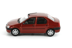 Small car. On white background stock photos