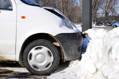 Small car accident Stock Photography