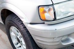 Small car damage stock photo