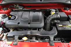 A small car engine Royalty Free Stock Image