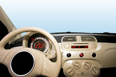 Small car interior Royalty Free Stock Image