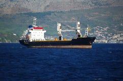 Small cargo ship Royalty Free Stock Photo