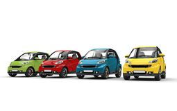 Small Cars In Color Royalty Free Stock Photography