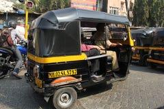 Small Cars of India Royalty Free Stock Photo