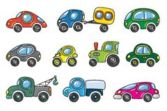 Small cars set Stock Photo