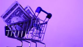 Small cart Stock Photo