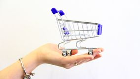 Small cart stock footage