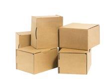 Small cartons Stock Image
