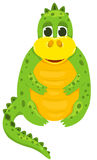 Small cartoon dragon 1 stock photos