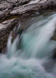 Small Cascade at McDonald Falls Royalty Free Stock Photos