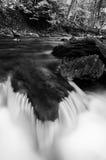Small cascade in a stream at Tacquan Glen, in Lancaster County Stock Photos