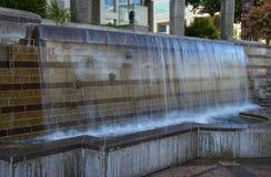 Small cascade at Truckee river promenade in Reno, Nevada Stock Photography