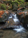 Small cascade waterfall Royalty Free Stock Images