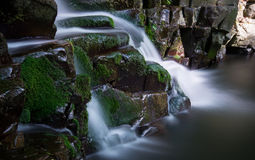 Small cascades in Hungary Royalty Free Stock Photography