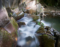 Small cascades in Hungary Stock Images