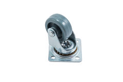 Small caster wheel Royalty Free Stock Images