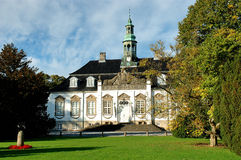Small castle. Castle in the small village of Soelleroed in Denmark Stock Photography