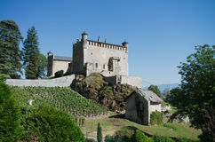 Small castle in France Stock Photo