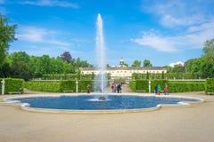 Small Castle Near park Sanssouci, Potsdam, Germany Stock Image