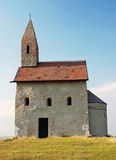 Small catholic chapel in Slovakia Stock Images