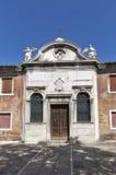 Small catholic church on Murano island. Venice, Italy. Stock Images