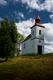 A small Catholic church. Stock Image