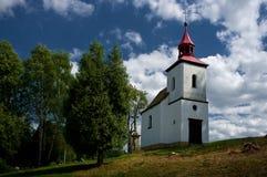 A small Catholic church. Royalty Free Stock Image