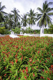 Small cemetery in the mekong delta,vietnam Stock Image