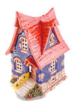 Small ceramic house. Or cottage Royalty Free Stock Photos