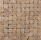 Small Ceramic Stone  Brick Tiled Background Stock Images