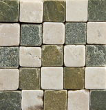Small Ceramic Stone  Brick Tiled Background Royalty Free Stock Photo