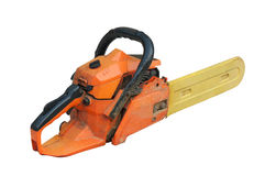 Small chainsaw Royalty Free Stock Photography