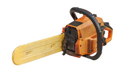 Small chainsaw Royalty Free Stock Photo