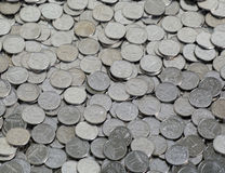 Small change. Large number of small money. metal coins Stock Photography