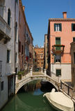 Small channel in Venice Royalty Free Stock Image