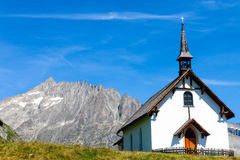 Small chapel in the alps Royalty Free Stock Photo