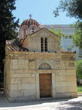 Small chapel in Athens city centre, Greece Stock Images