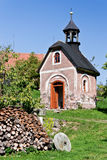 Small chapel in Bohemia - Czech Republic Stock Photo