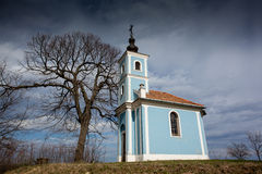 Small chapel Stock Photography
