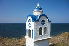 Small chapel in Greece Stock Image