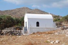Small chapel, Halki island Stock Photo