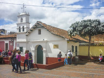 Small Chapel at Historic Center of Bogota Colombia Royalty Free Stock Photos