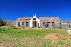 Free Small Chapel In San Pietro Island Royalty Free Stock Image - 40105846