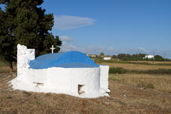 Small chapel at Kos island, Greece Royalty Free Stock Photo