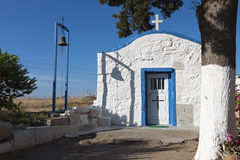 Small chapel at Kos island, Greece Stock Photos