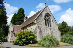 Small chapel in Lyndhurst in the New Forest Stock Photo