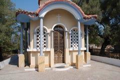 Small chapel, Meganissi Stock Image