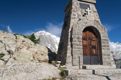 Small chapel, Mont Chetif Royalty Free Stock Photos